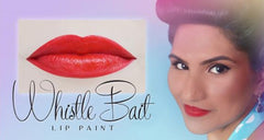 Le Keux Whistle Bait red lip paint pot