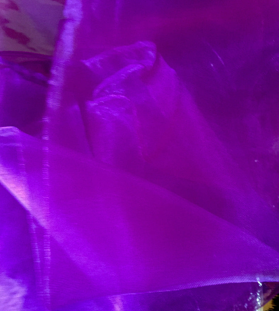vintage style chiffon square head scarf pinup purple
