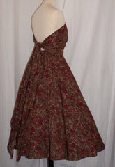 SALE Magic dress - vintage 1950s inspired multi way tie top dress