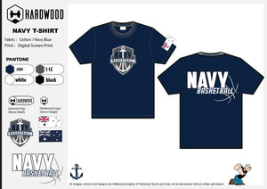 Navy Basketball Shirt (Blue)