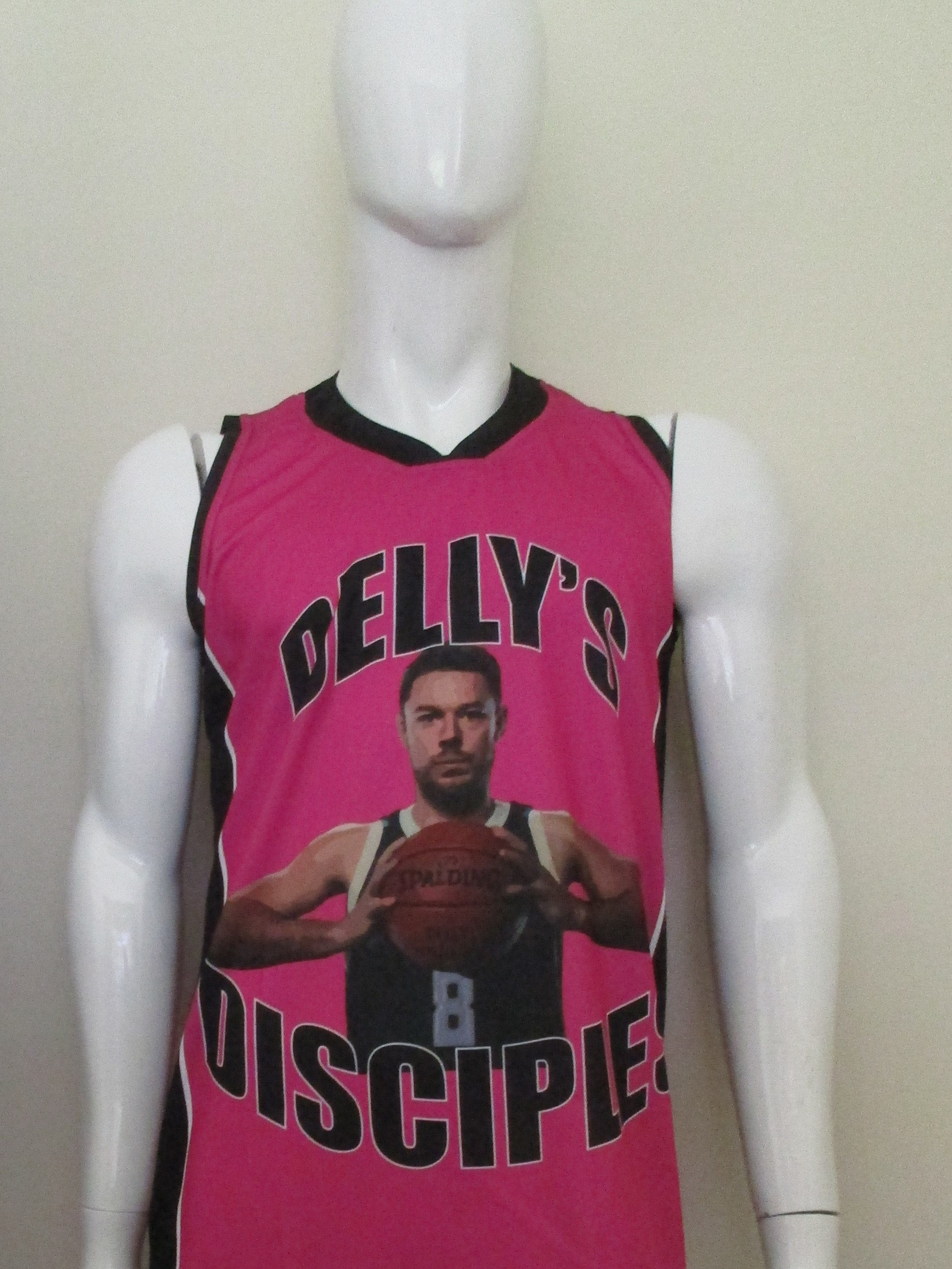 Delly's Disciples Basketball Jersey Only