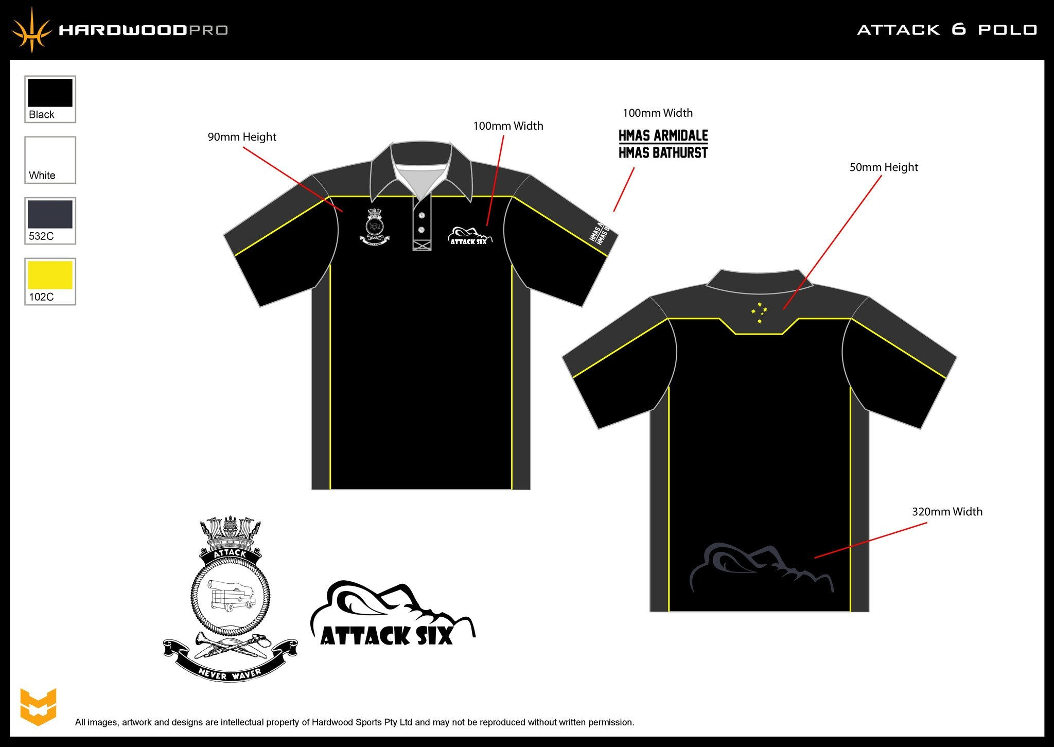 Attack 6 Polo Shirt