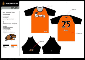 Beavers Warm Up Top