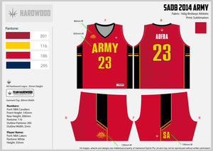 SADB Army Uniform Set