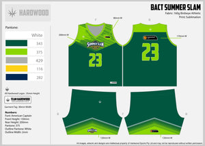 BACT Summer Slam Green Uniform Set
