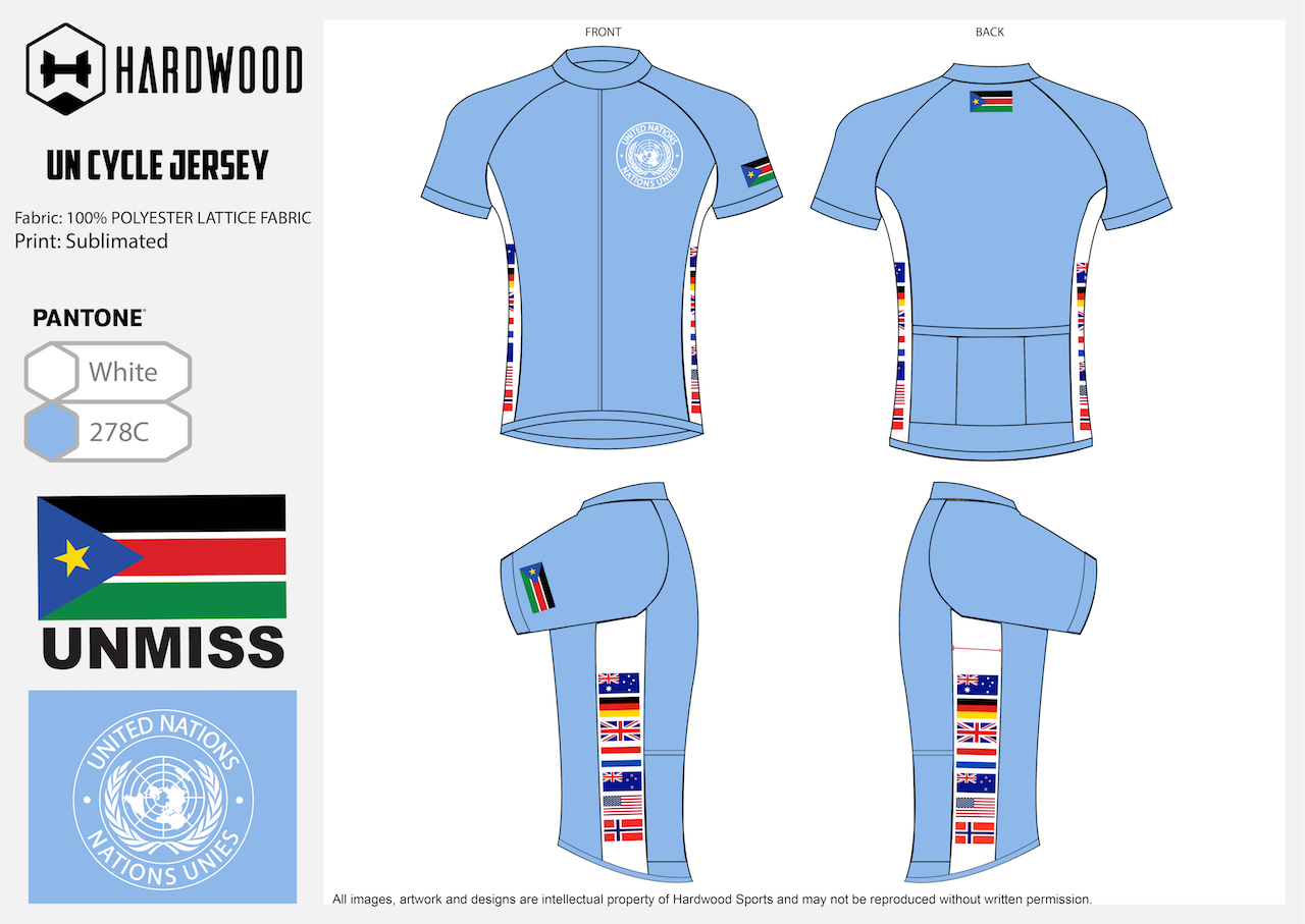 UNMISS Cycling Jersey