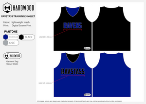 RAVSTASS Reversible Basketball Training Jersey