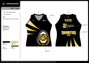 Queanbeyan Tigers Football Jersey