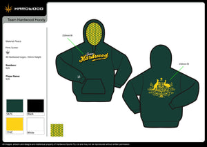 HDWD Green & Gold Hoodie