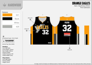 Orange Eagles Basketball Jersey