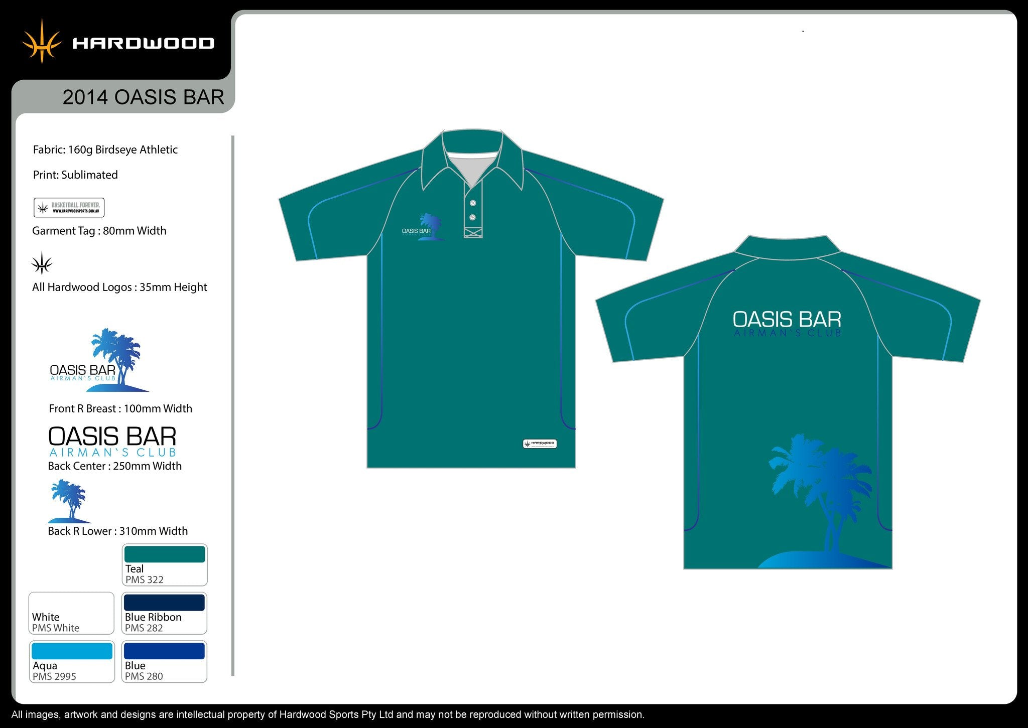 Oasis Bar Polo Shirt