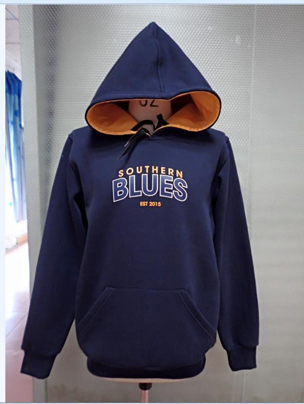 Southern Blues Basketball Hoodie