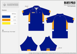 Southern Blues Polo Shirt
