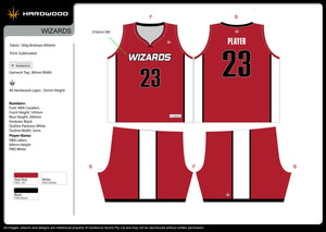 Wizards Basketball Jersey