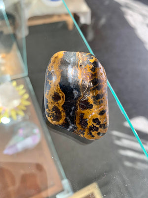 Black and Orange Jasper