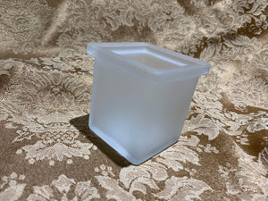Votive Holder - Frosted Square