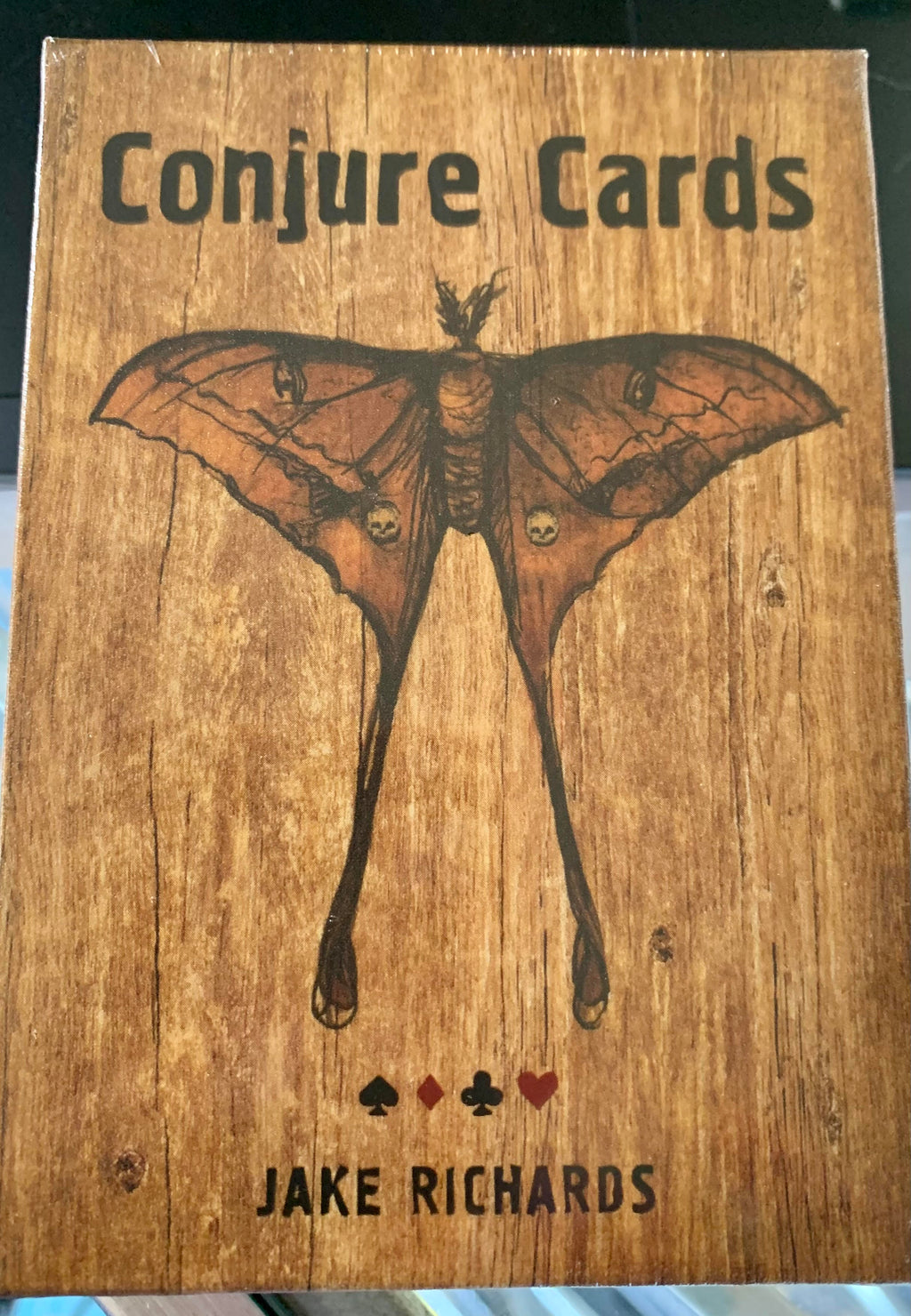 Conjure Cards Fortune-Telling Card Deck and Guidebook - Author Jake Richards