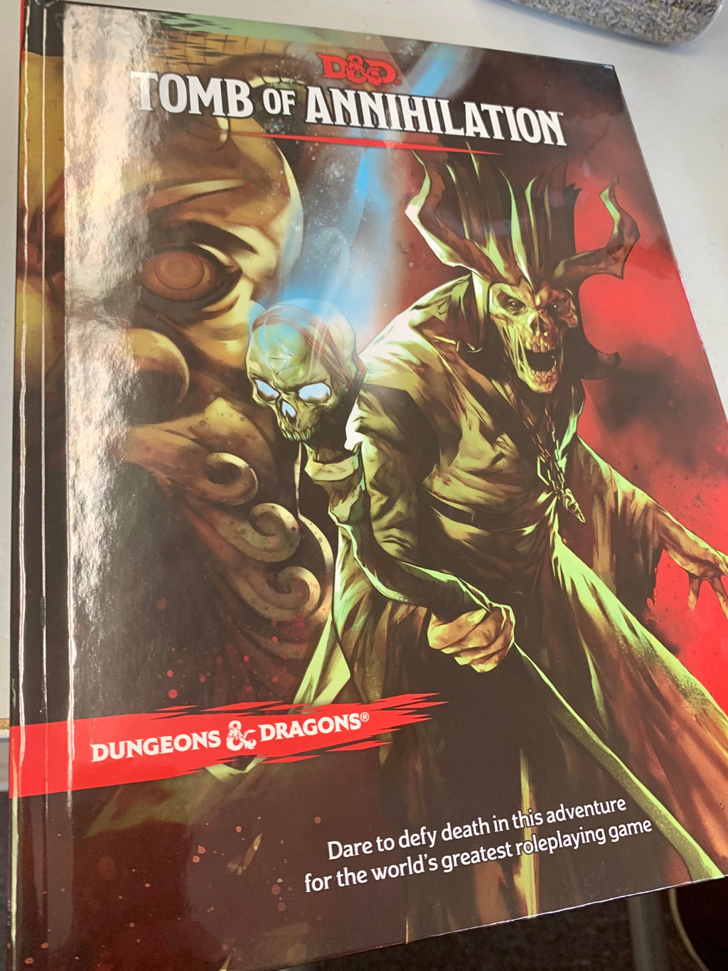 Adventure Guide Tomb of Annihilation
