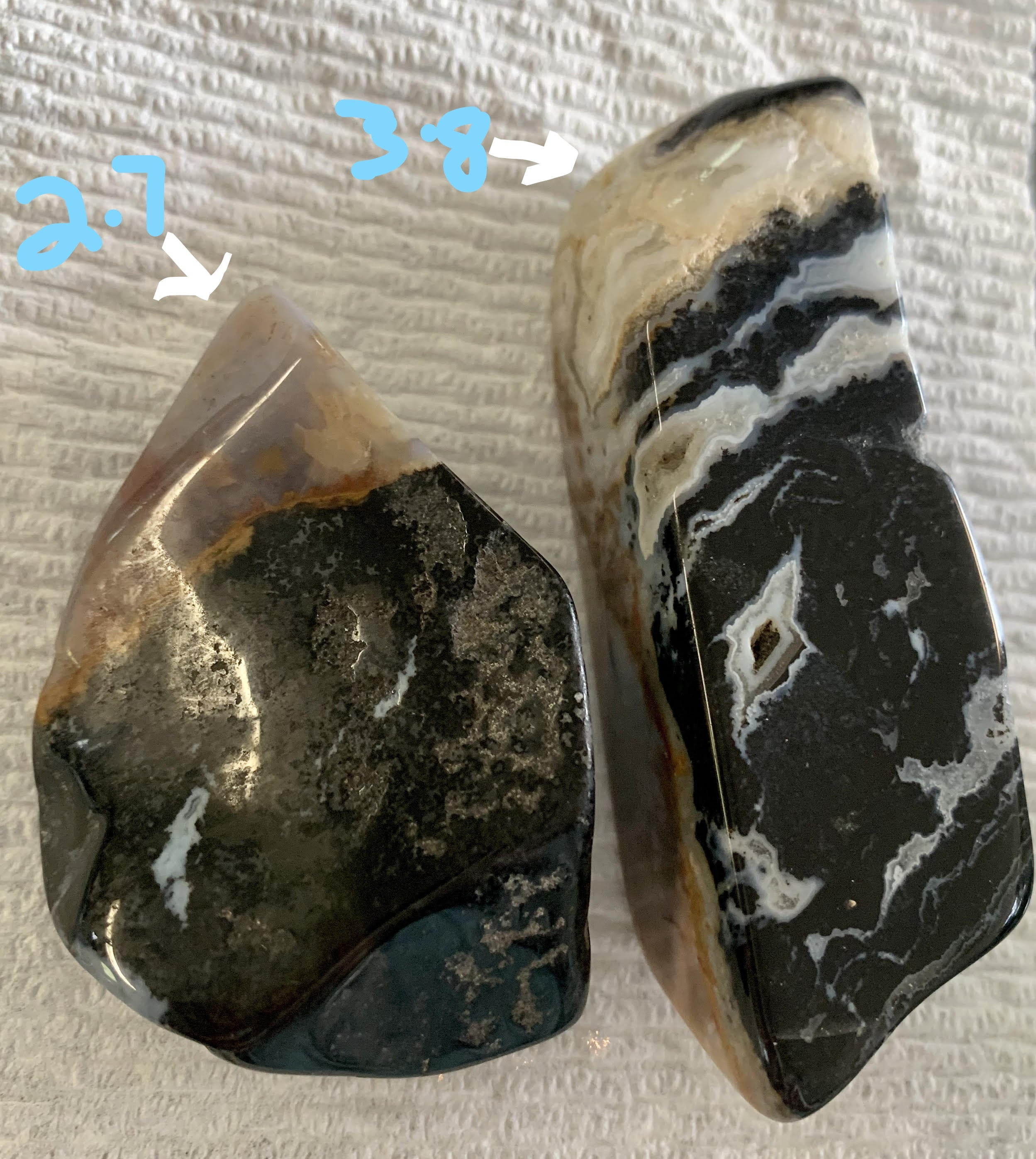 Red, Black and White Jasper