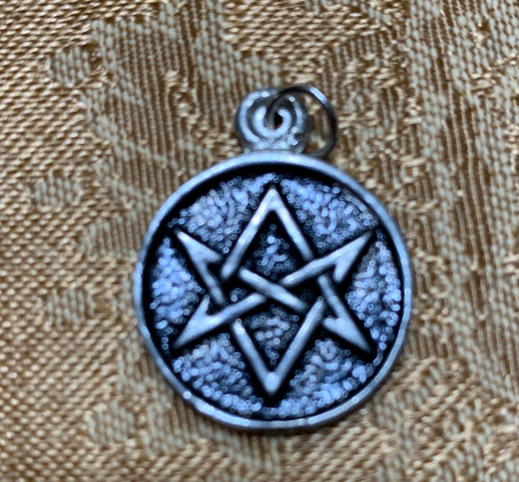 Magic Hexagram w/chain