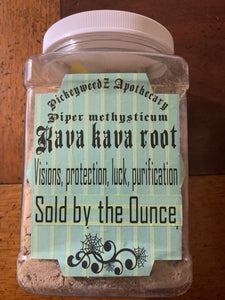 Kava Kava Root (Piper Methysticum)