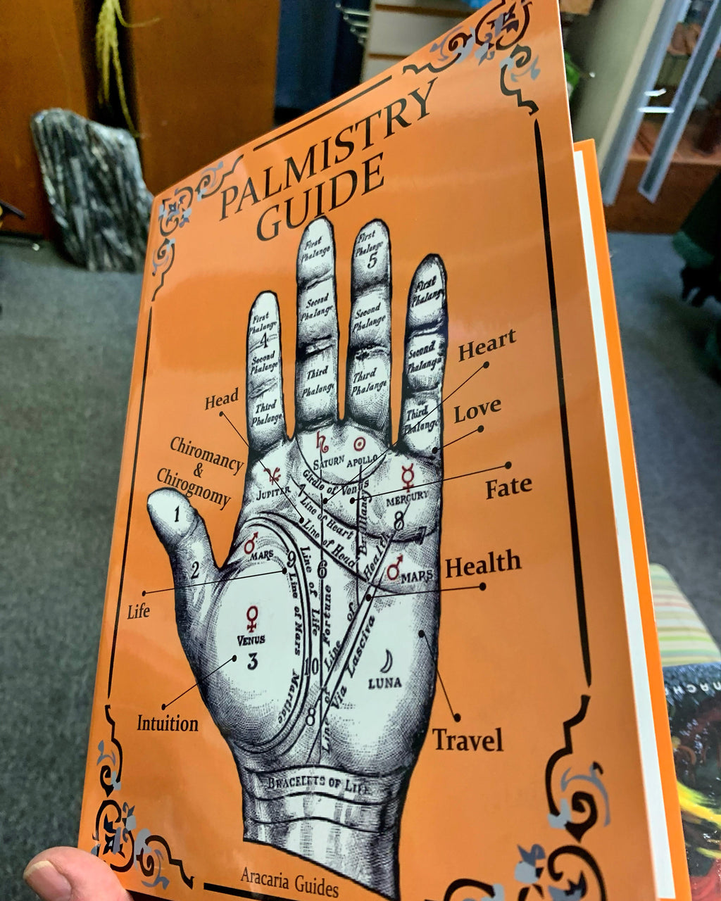 Palmistry Guide - BY STEFAN MAGER