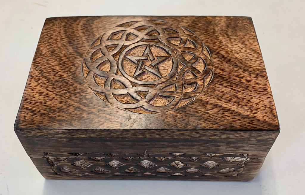Celtic Pentagram Tarot Box