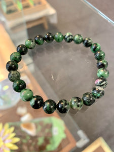 Ruby Zoisite Stretchy Bracelet