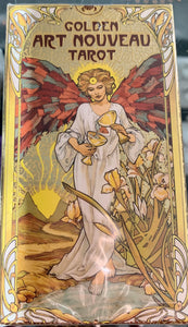 Golden Art Nouveau Tarot - BY GIULIA F. MASSAGLIA
