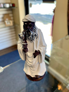 "Obatala (statue is approximately 5"")"