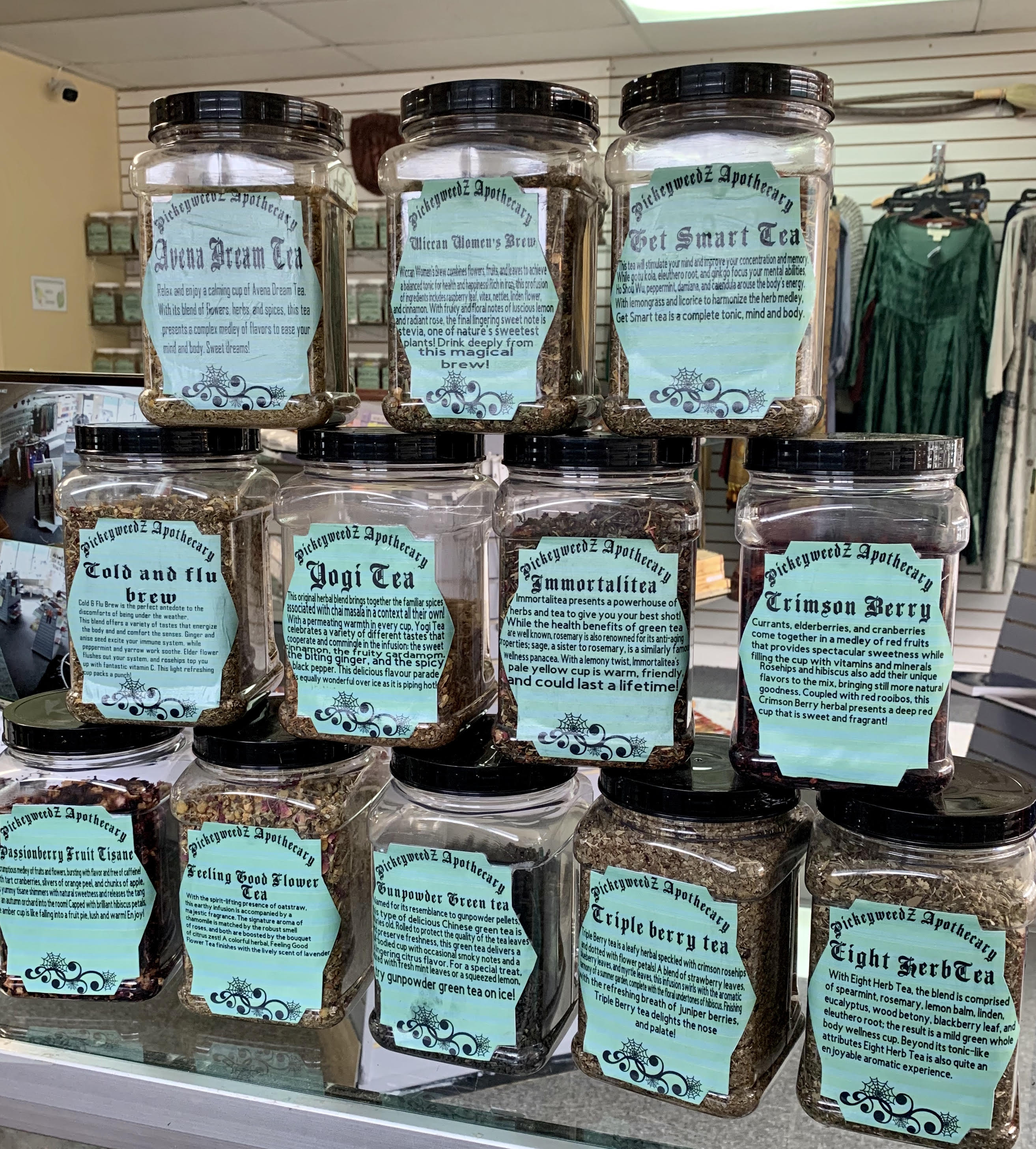 Herbal Tea Varieties - by the ounce
