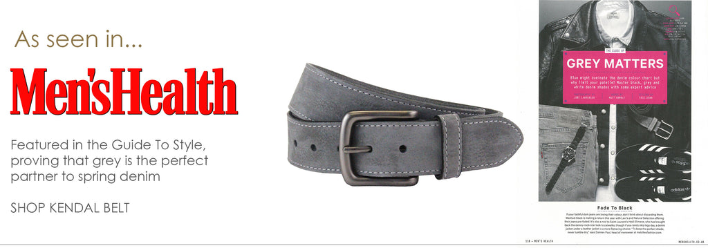 The British Belt Company in Men's Health