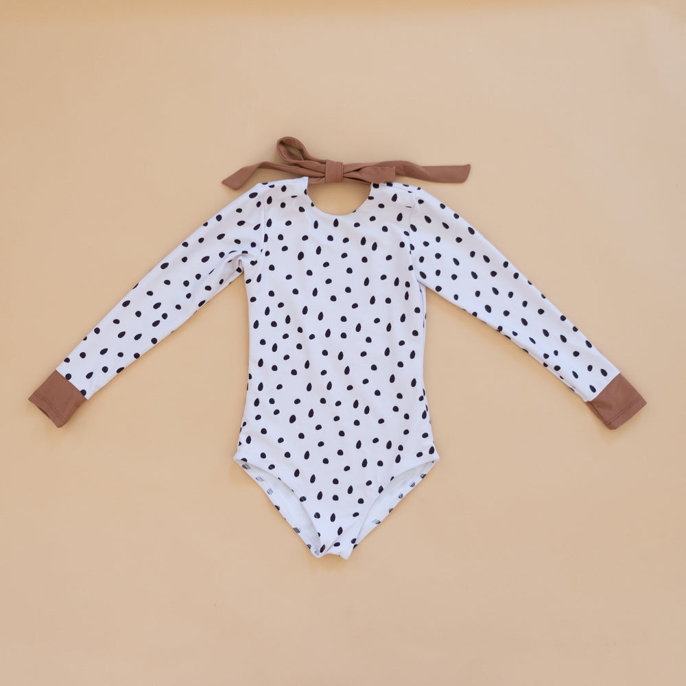 Dalmatian Long Sleeve Swim