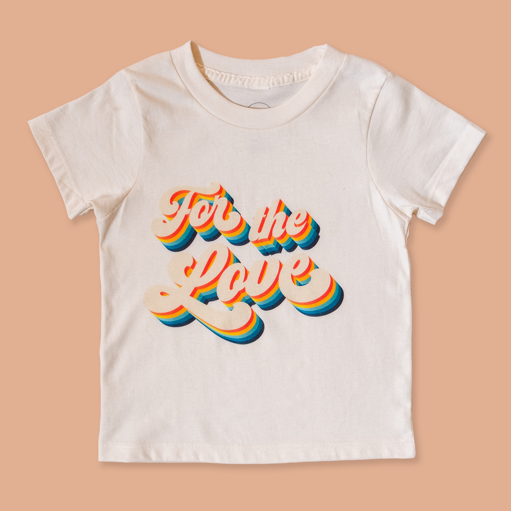 product photo of the children's for the love tee