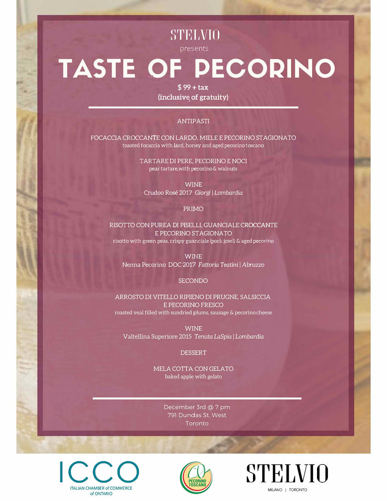 Taste of Pecorino