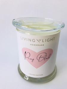 Living Light Peony Blush Candle