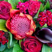 Valentines Day Dramatic Red Bouquet