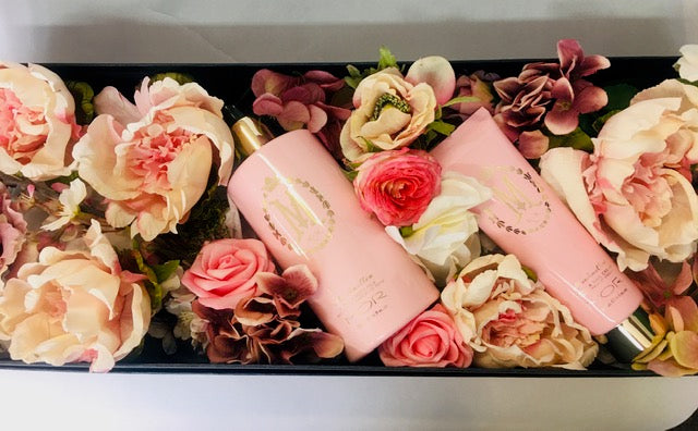 Marshmallow flower box