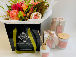 Peony Blush Products & Bouquet
