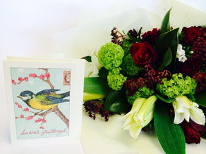 Christmas Bouquet & Gift Card