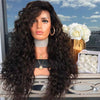 Black long curly hair¡ª 140%(EXTRA THICK AS IN VIDEO)