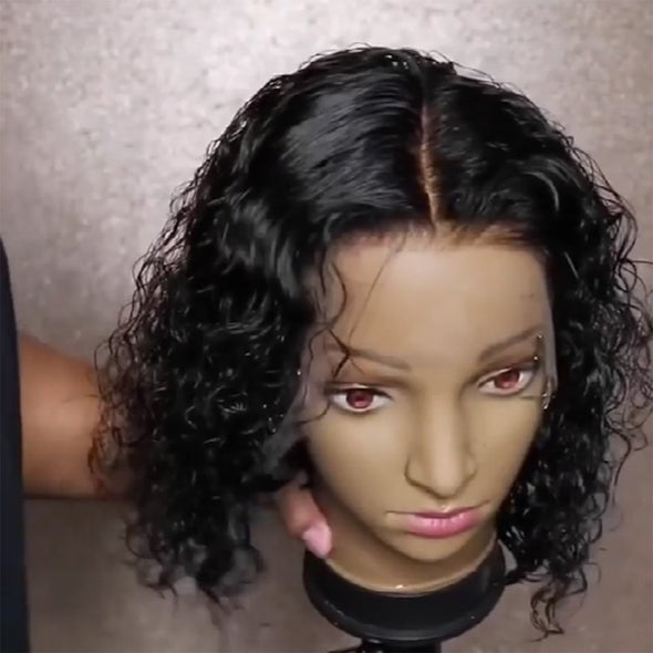 Kinky Curly 360 Lace Frontal Wig 100% Human Hair