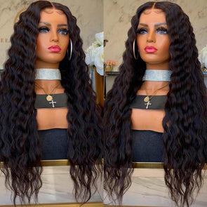 INS HOT SALE-Black vintage curly wig