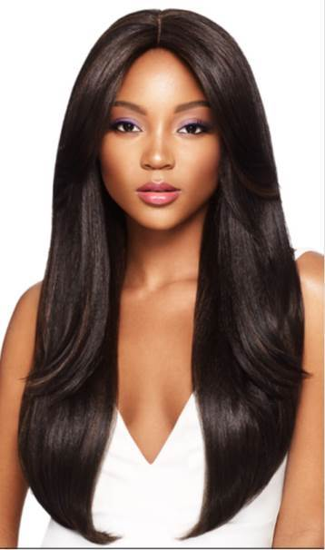 Outre Blunt Cut Swiss Lace I-Parting Lace Front Wig VEDA