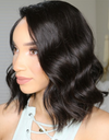 Beveled Wave Bob Lace Front Wig