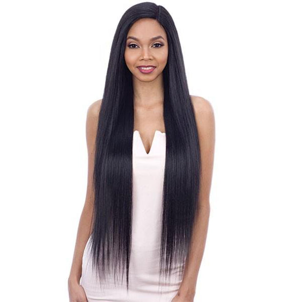 Bobbi Boss Human Hair Sleek Bob Lace Front Wig MHLF405 FLORA