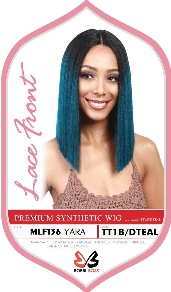 Bobbi Boss Synthetic Swiss Lace Front Wig MLF309 TESSA