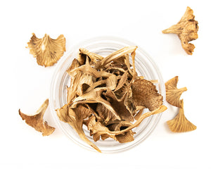 Natural Nordic dried Trumpet chanterelle