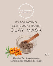 Charger l'image dans la galerie, Natural Nordic Sea buckthorn clay mask