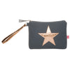Canvas Star Cosmetic Bag (small)